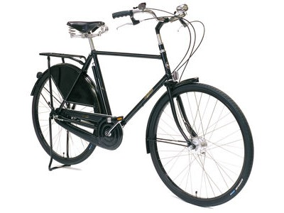 "PASHLEY Roadster Classic 22.5/28"" Buckingham Black  click to zoom image"